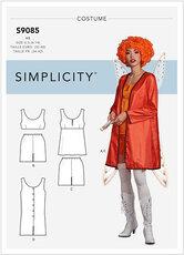 Klovn-engel kostume. Simplicity 9085.