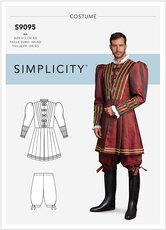 Prince kostume. Simplicity 9095.