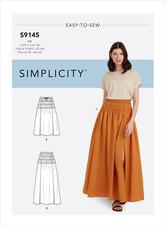 Nederdel. Simplicity 9145.
