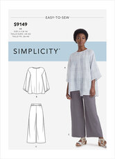 Toppe og Bukser. Simplicity 9149.