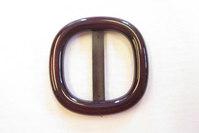 Aubergine bæltespænde bæltebredde 3cm