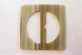 Benlook bæltespænde, bæltebredde 3,5 cm.