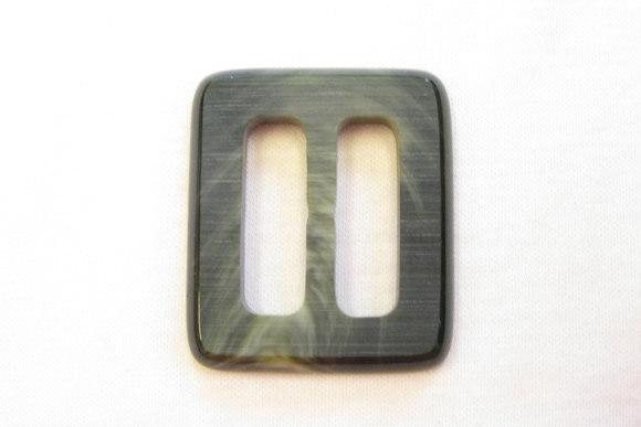 Grønligt bæltespænde bæltebredde 2,5cm