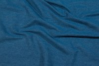 Mellemblå, kloret denim 10 oz