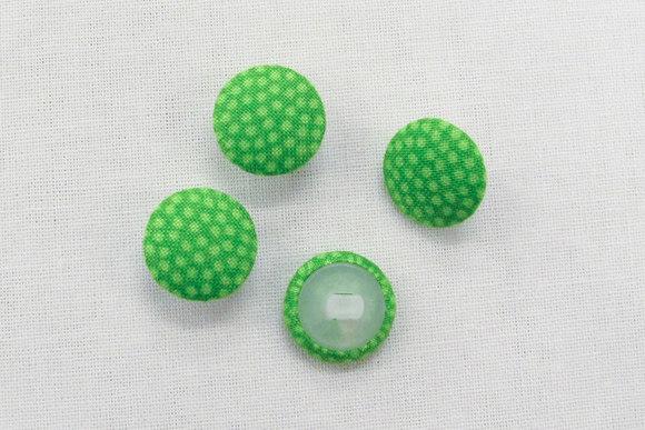 Prikkede knapper i lime