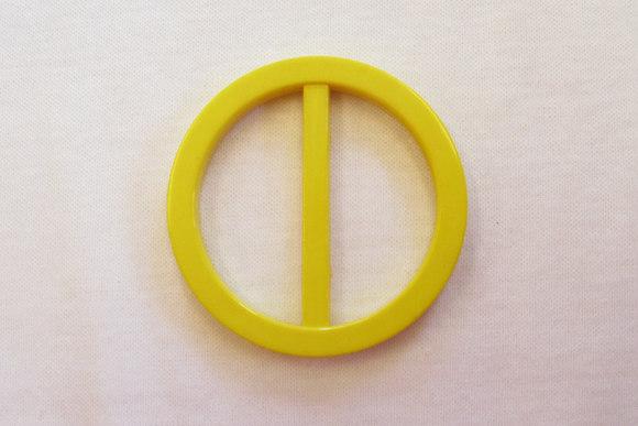 Rundt bæltespænde bæltebredde 2,5 cm