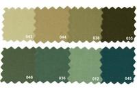 Sanforbomuld-økotex i naturfarver
