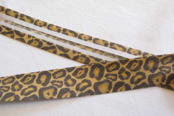 Skråbånd dyreprint, 2cm