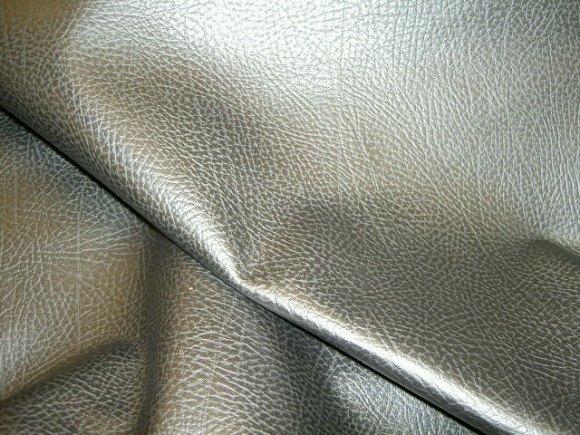 Sort, præget, imiteret bøffel læder
