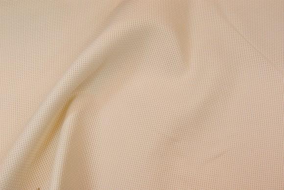 Tællelet grov Aida broderivare 2,4 tr. i ecru-farve og hvid