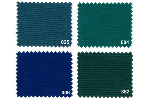 Texgard imprægneret markisestof ensfarvet, grønne nuancer