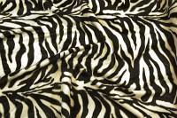 Zebra pels i flot, naturtro kvalitet