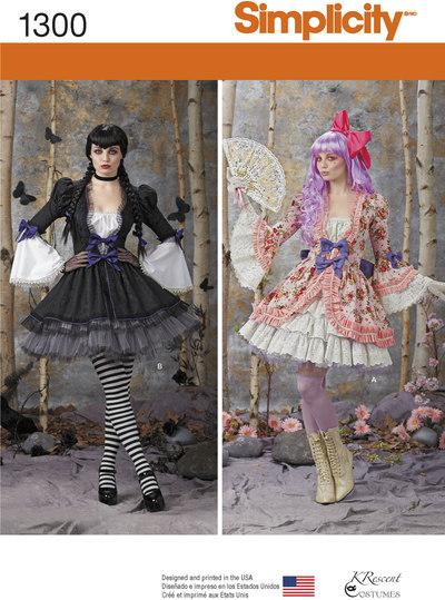 Kostume kjole og nederdel
