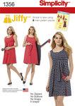 Jiffy reversibel kjole