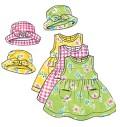 Kjole, dragt, bukser, hat, taske m.m.