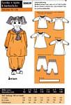 Onion 20039. Tunika, kjole og berberbuks.