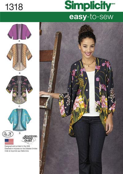 Kimono jakker