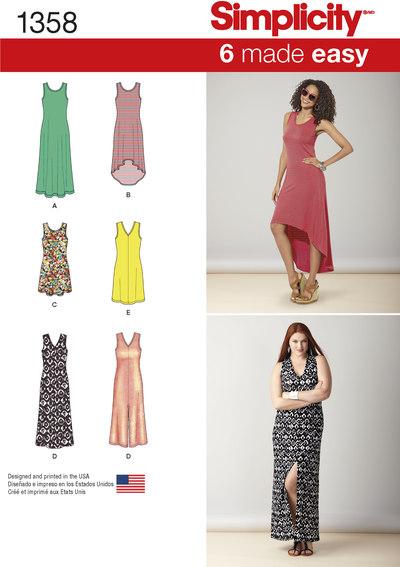 Kjoler med længde, flere designs