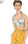 BH toppe retro 1950er stil