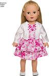 Kjoler og sæt til 45 cm dukke