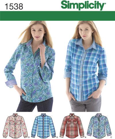 Knappede skjorter