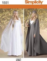 Elver udklædning. Simplicity 1551.