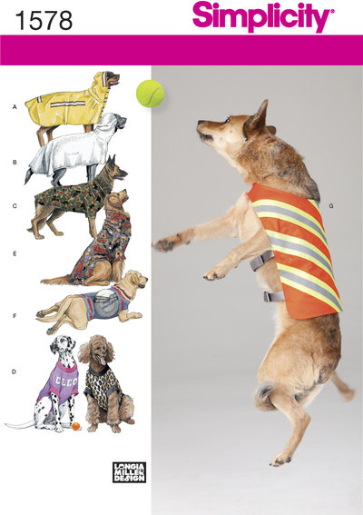 Tøj og frakker til hunde