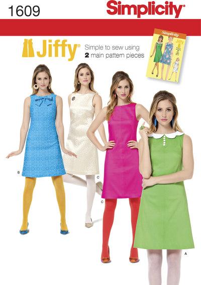 1960 retro jiffy kjoler