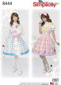 Lolita kostume. Simplicity 8444.
