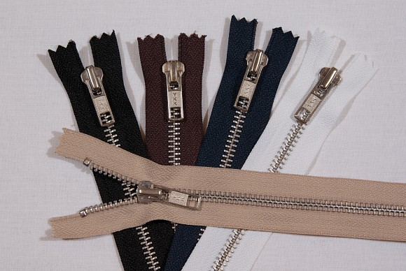 Bukselynlås i metal, 6 mm bred, 18 cm lang