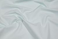 Klassisk bomuldsvare i lys babyblå med hvide mini-prikker