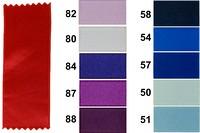 Satinbånd, blå - lilla farver, 16 mm bredde