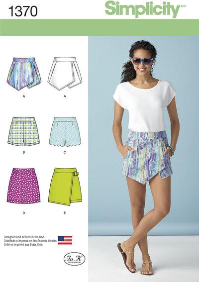 Shorts og shortsnederdel