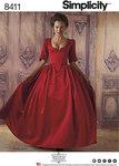 Simplicity 8411. 18th århundrede kostume.