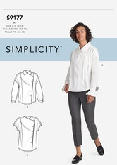 Toppe. Simplicity 9177.