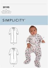 Barn jumpsuit. Simplicity 9195.