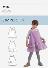 Childrens Jumpers. Simplicity 9196.