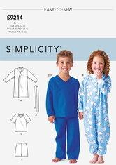 Hyggetøj til børn. Simplicity 9214.