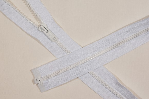 Soveposelynlås, delbar, plastik, 6 mm bred, 250 cm lang