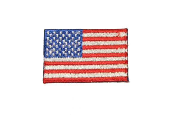 Stort USA flag 7 x 4,5 cm