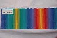 Texgard imprægneret markisestof multifarvet