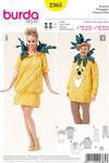 Ananas og karnveval med partner