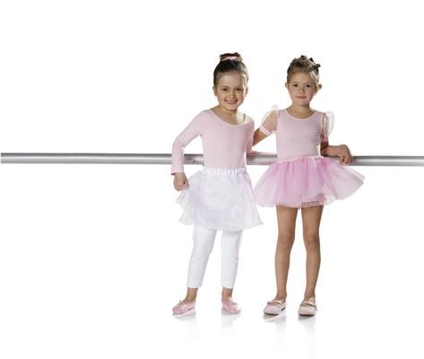 Gymnastikdragt, balletskørt, strømpebukser