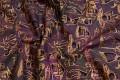 Detaljeret mønster på gedigen bomuldsvare. Til patchwork m.m.