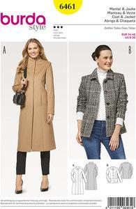 Frakke og jakke. Burda 6461.