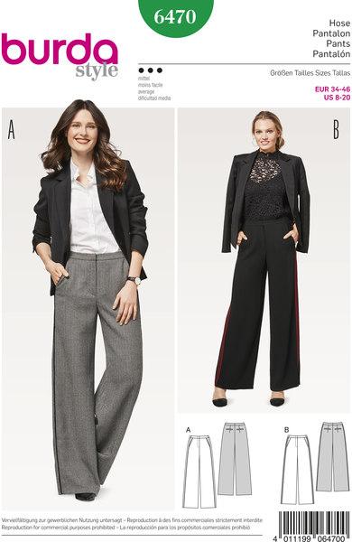 Bukser, klassiske med vidde