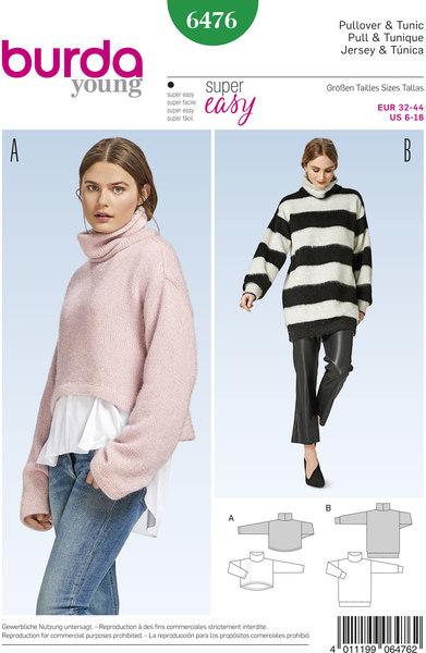 Pullover og tunika