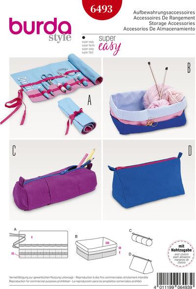 Penalhus, taske, strikketøjsholder