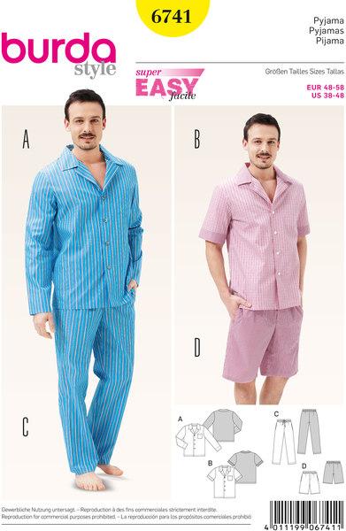 Herre pyjamas, klassisk stil