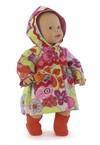 Her er mønstre til 7 forskellige beklædningsstykker til dukker inklusiv en hat, halstørklæde og støvler. Dukkens mor vil elske at mixe og matche tøjet og kan have et nyt sæt tøj til hver dag.